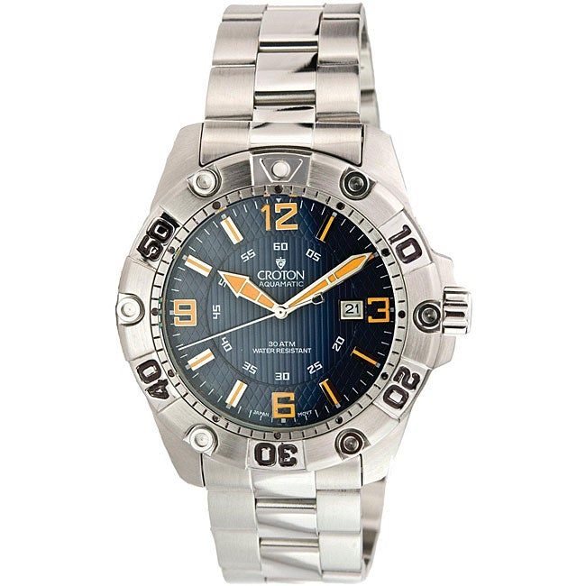 Croton Men's Professional Diver's Quartz Watch