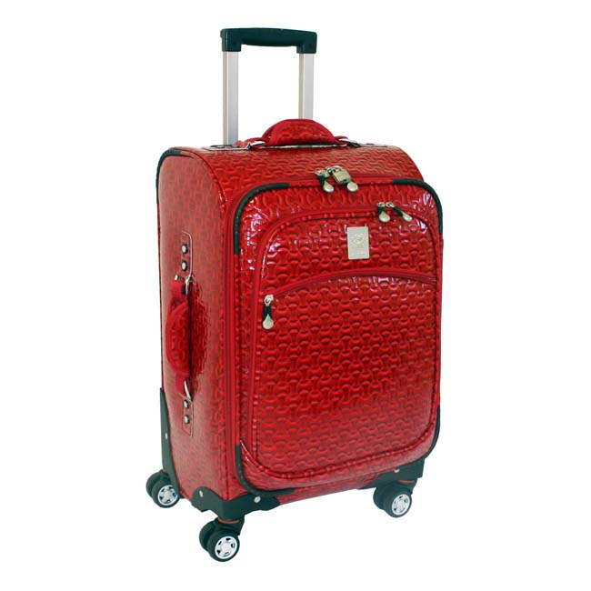 Jenni Chan Bows 21-inch Carry-on Wheeled Upright Luggage