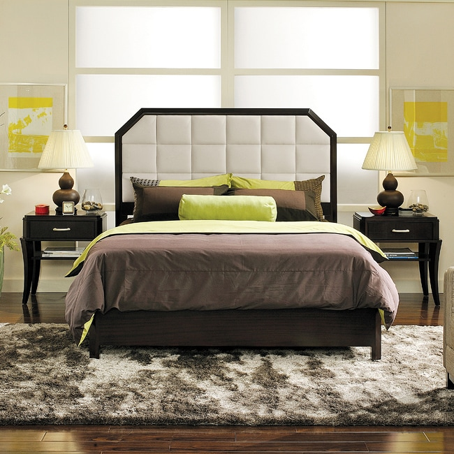 Manhattan 6 Piece Queen Bedroom Set Cherry: Manhattan Alexis 3-piece Queen-size Bedroom Set
