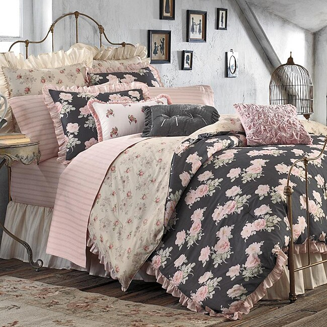 Liz Queen-size 8-piece Bed in a Bag with Sheet Set