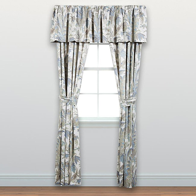 Tommy Bahama Bimini Paisley 5-piece Window Treatment Set