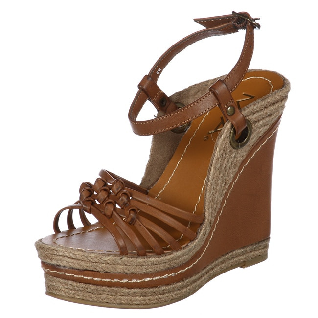 MIA Women's 'Biscotti' Wedge Sandals