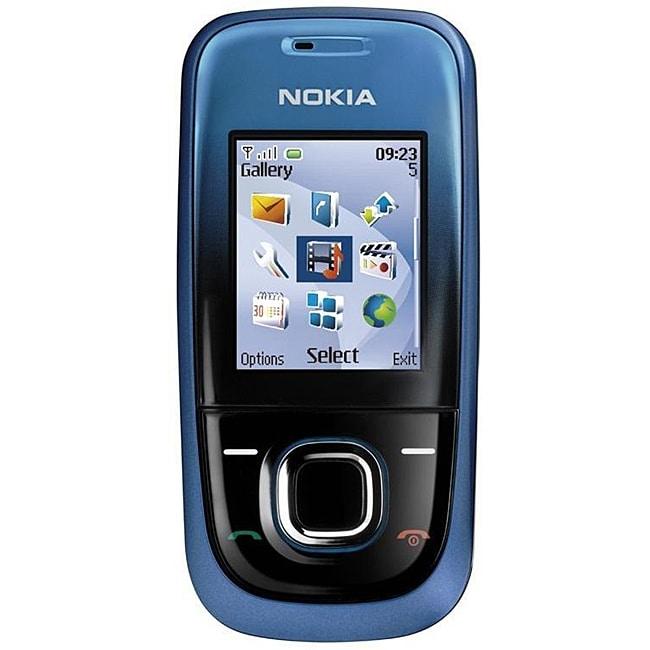 Nokia 2680 Slide Unlocked Blue Cell Phone