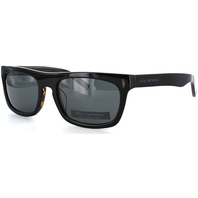 John Varvatos Men's V326 Wayfarer Sunglasses