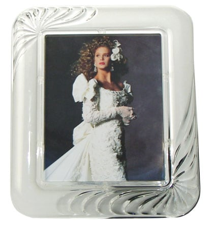 mikasa mystique crystal picture frame