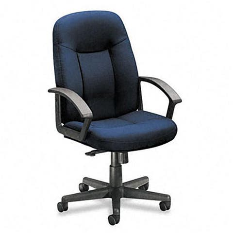 basyx by HON VL601 Series Managerial Mid-Back Swivel