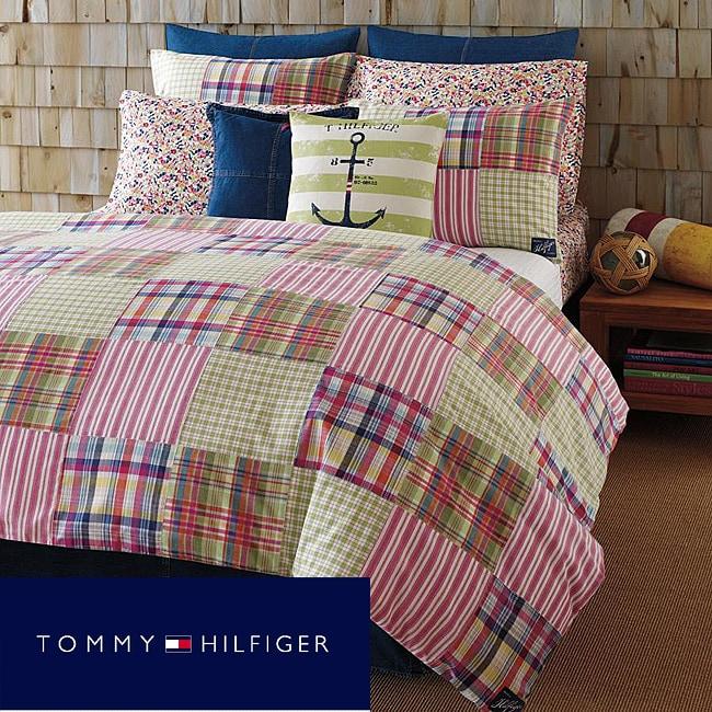 Tommy Hilfiger Twin size 'Hampton Harbor' Patchwork 2-piece Mini Comforter Set