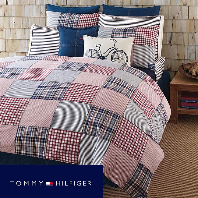 Tommy Hilfiger 'Colton Point' Patchwork 3-piece Full/Queen-size Mini Comforter Set