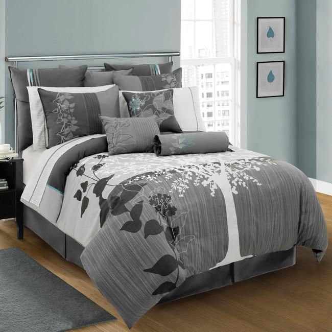 Aluna 4-piece Queen-size Comforter Set