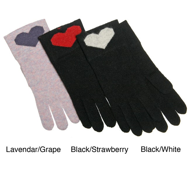 Portolano Women's Heart Gloves