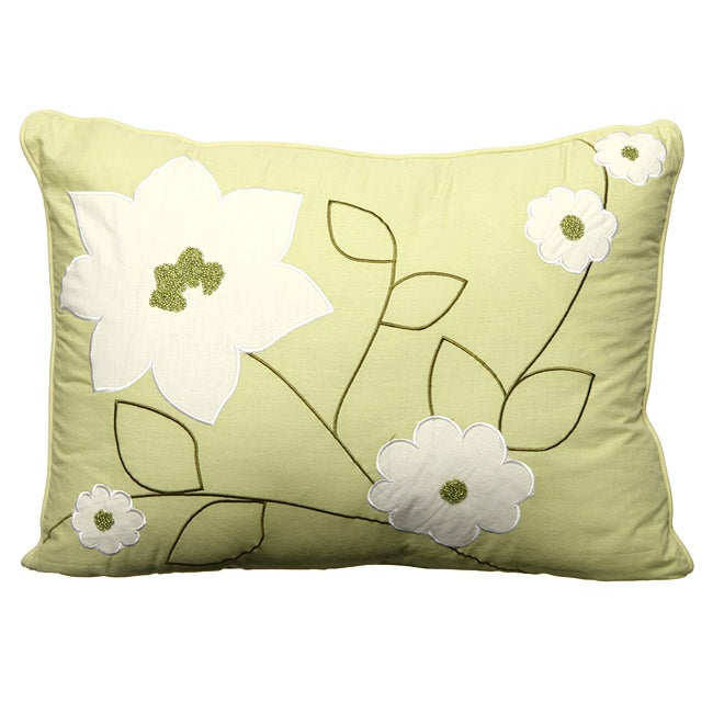 Shop Steve Madden Cory Chartreuse Decorative Pillow Free Shipping Beauteous Chartreuse Pillows Decorative