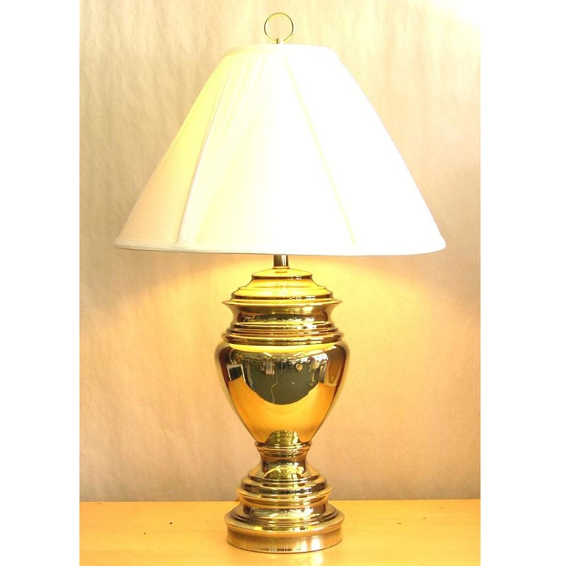 Traditional Brass Table Lamps: Traditional Polished Brass Table Lamp,Lighting
