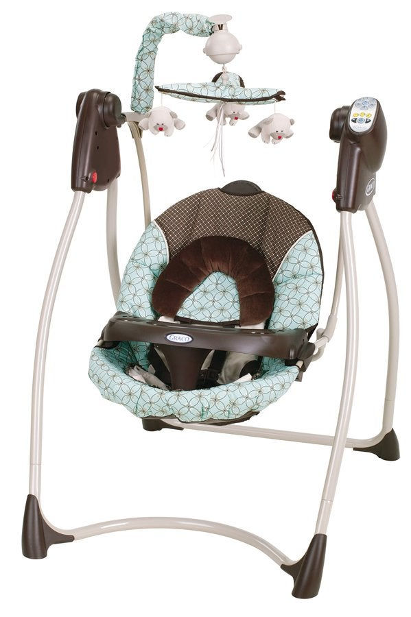 Graco Lovin Hug Swing In Townsend Free Shipping Today