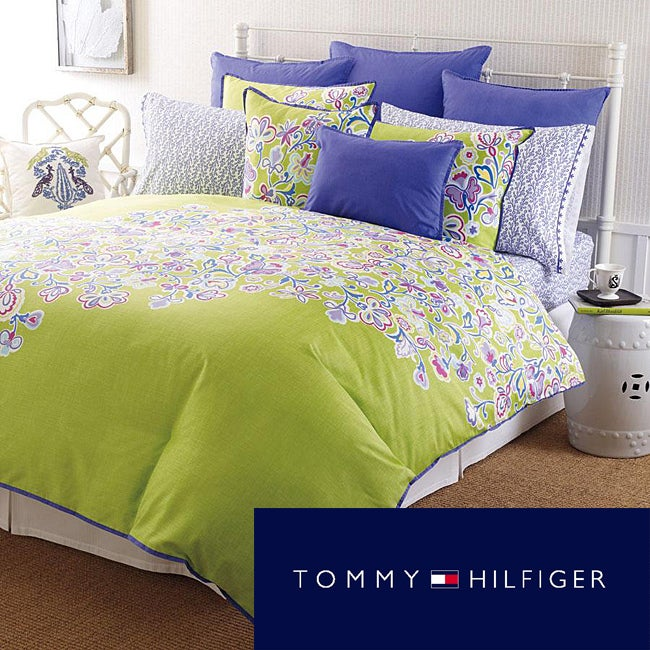 Tommy Hilfiger Folklore Full/ Queen Comforter Mini Set