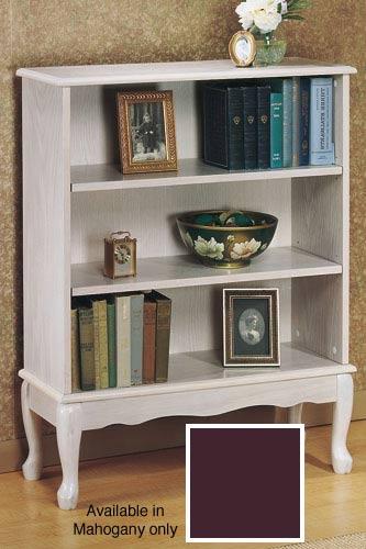 Queen Anne Style 3 Shelf Bookcase