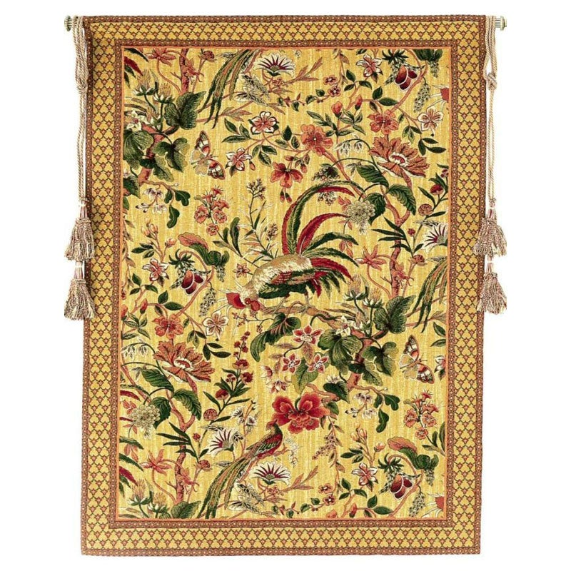 Shop Exotic Birds European Tapestry Wall Hanging - Free Shipping ...