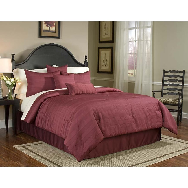 Buckley Cal King-size 8-piece Bed in a Bag with Sheet Set
