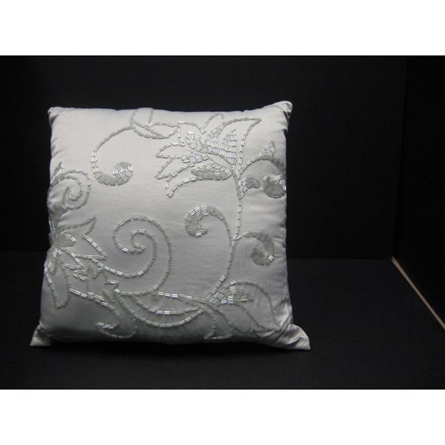 Andover Beaded Decorative Pillow