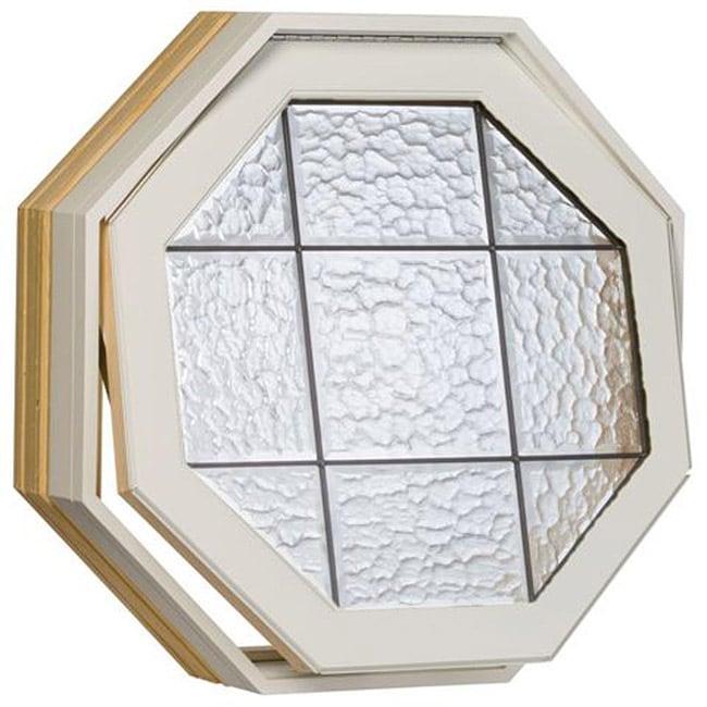 Century White Clad Operating Iceburg Design Octagon Window