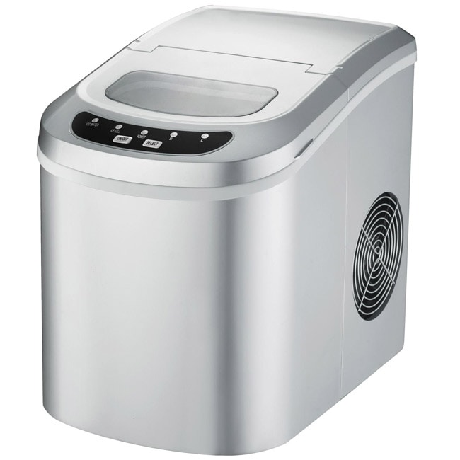 Supentown Silver Compact Portable Ice Maker - Thumbnail 0