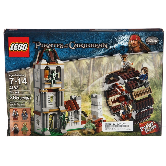 LEGO 4183 Pirates of the Caribbean The Mill Toy Set