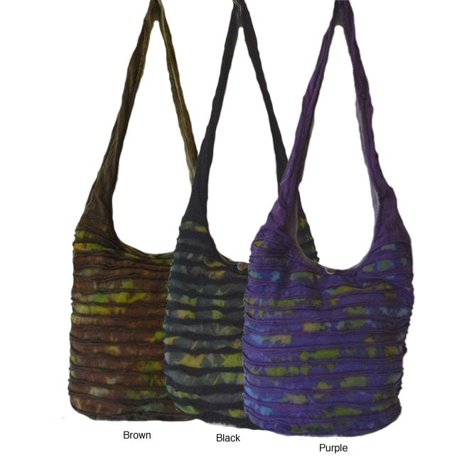 Cotton Tie-dye Razor Sling Bag (Nepal)