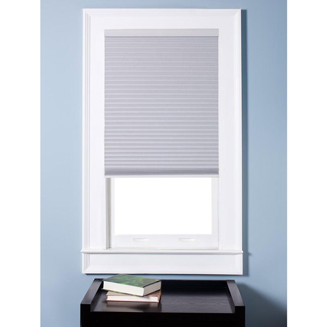 Arlo Blinds Honeycomb Cell Blackout White Cordless Cellular Shades (31.5 x 60)