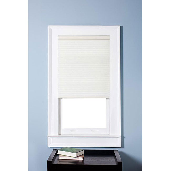Arlo Blinds Honeycomb Cell Light-filtering Cream Cordless Cellular Shades (28.5 x 60)