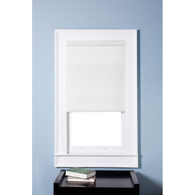 Arlo Blinds Honeycomb Cell Light-filtering Pure White Cellular Shades (35.5 x 72)