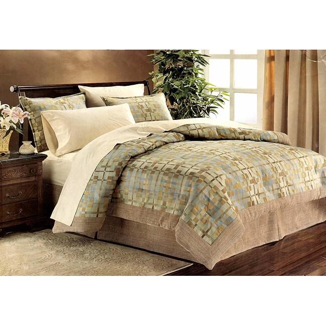 Jaywalk Topaz King 8-piece Comforter Set