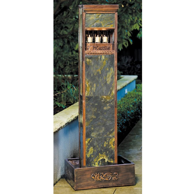 Alcove indoor outdoor water fountain free shipping today overstock