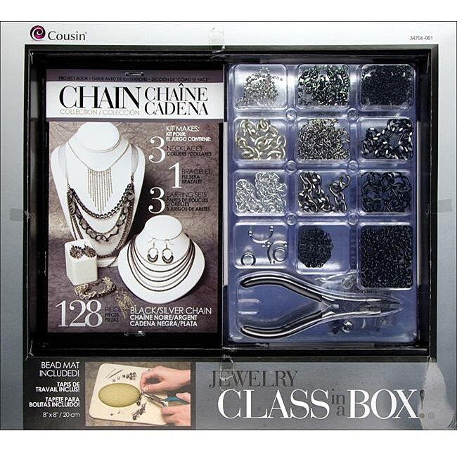 Jewelry Basics 'Silver Chain' Class In A Box Kit