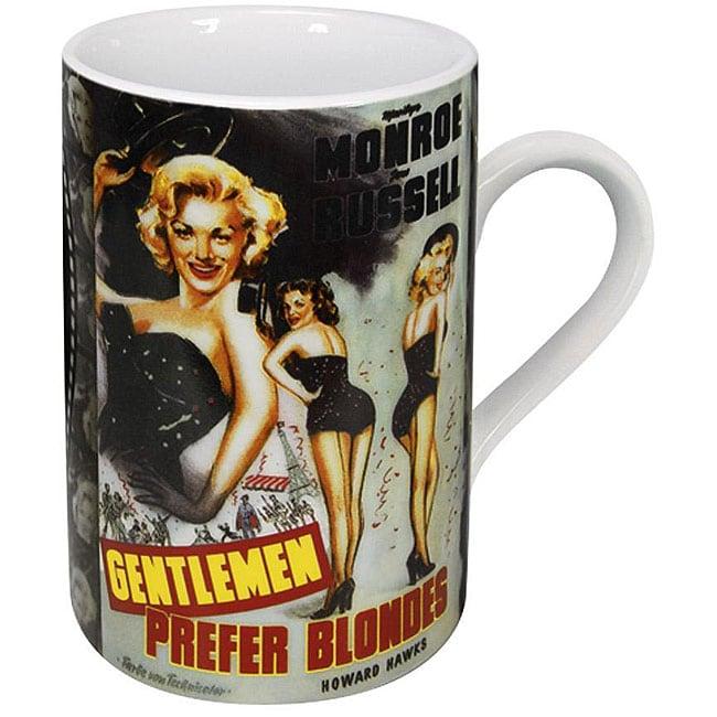 Konitz Cinema Gentlemen Prefer Blondes Mugs (Set of 4)
