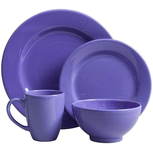 Waechtersbach 16-piece Blueberry Dinnerware Set  sc 1 st  Overstock & Waechtersbach 16-piece Blueberry Dinnerware Set - Free Shipping ...