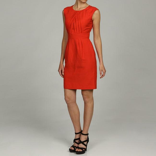 Calvin Klein Women's Sleeveless Scoop Neck Dress