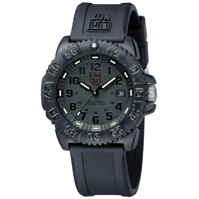 Luminox Men's EVO Navy Seal Blackout Watch