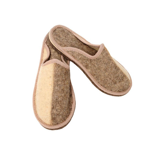 Men's Felt 'Day and Night' Eco Slippers (Russia)