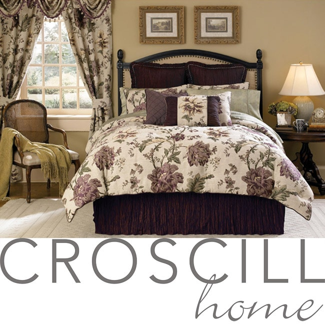 Croscill Amethyst Queen 4-piece Comforter Set