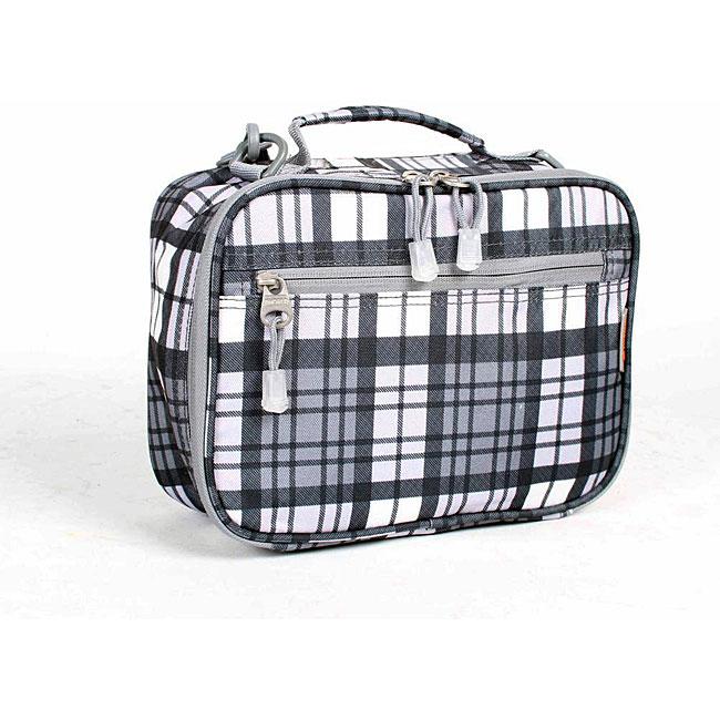J World Tartan Grey Cody Lunch Box