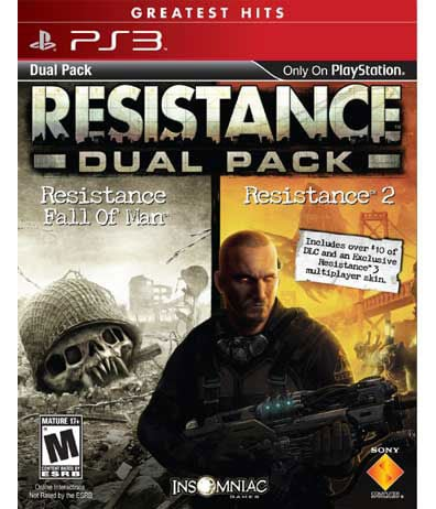 PS3 - Resistance Greatest Hits Dual Pack - By Sony Computer Entertainment