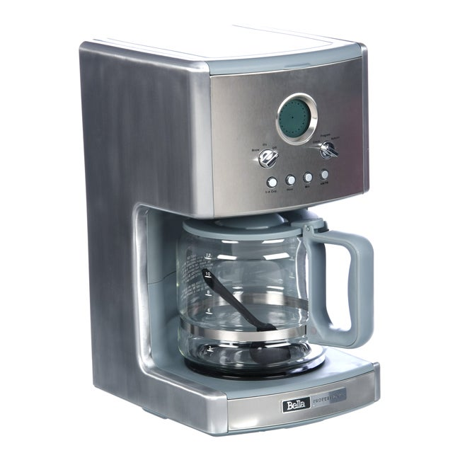 Bella Red Coffee Maker Manual : Sensio 90017 Bella 12-cup Coffee Maker - Free Shipping Today - Overstock.com - 13645210
