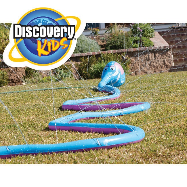 Discovery Kids Twisty Trunk Elephant Sprinkler Water Toy - Thumbnail 0