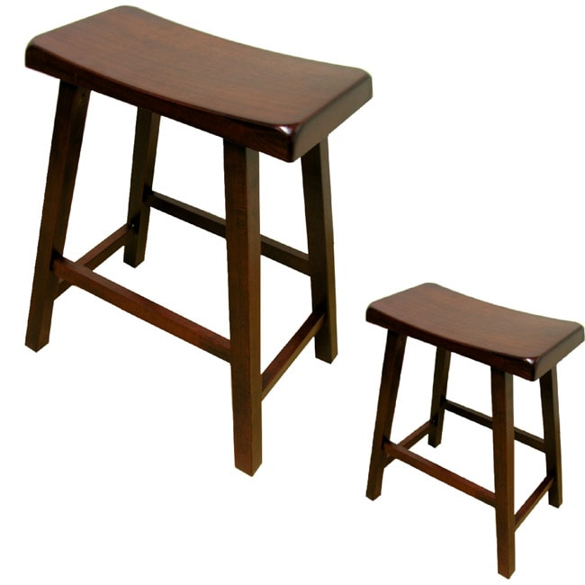 Warehouse Of Tiffany Brown Bar Stools Set Of 4 Free