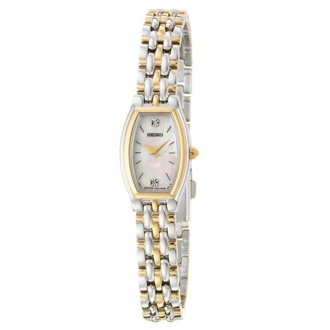 Seiko Women's 'Dress' Two-tone Stainless Steel Quartz Watch
