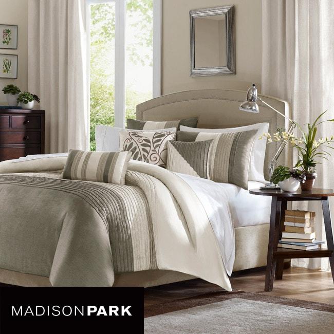 Madison Park Eastridge 6-piece King-size Duvet Cover Set