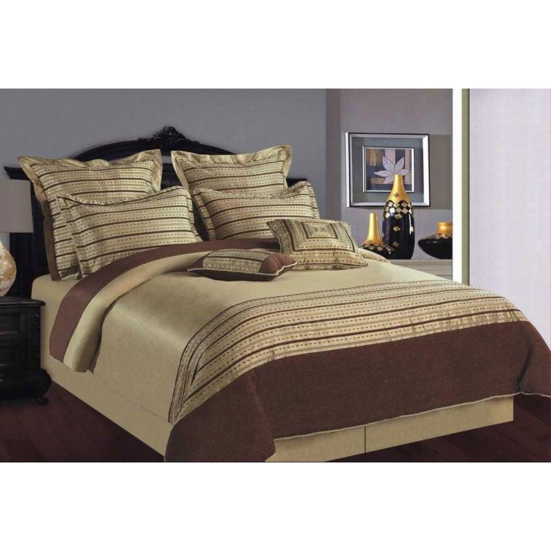 City Slick King-size 8-piece Comforter Set