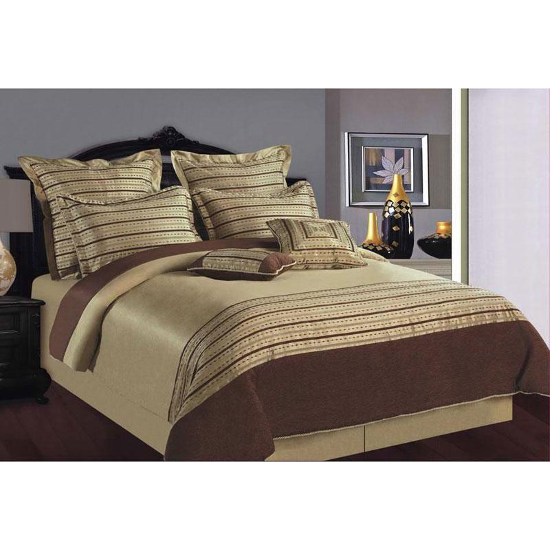 City Slick 8-piece Celadon Queen-size Comforter Set