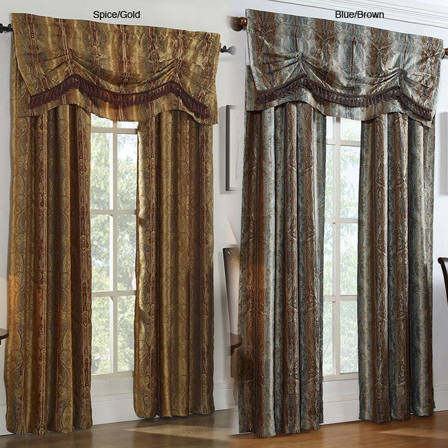 Sonata 63-inch Two-tone Curtain Panel