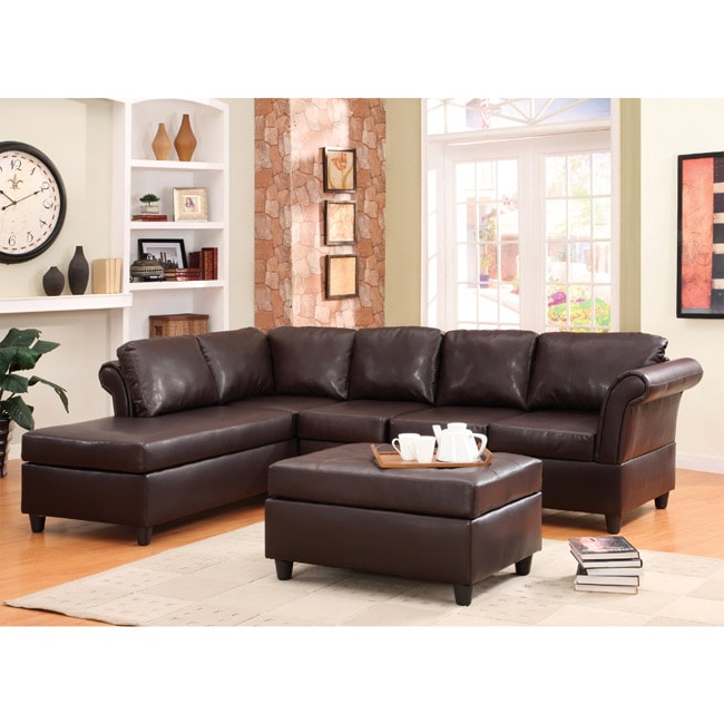 Jasper Sectional Sofa and Ottoman Set - Thumbnail 0
