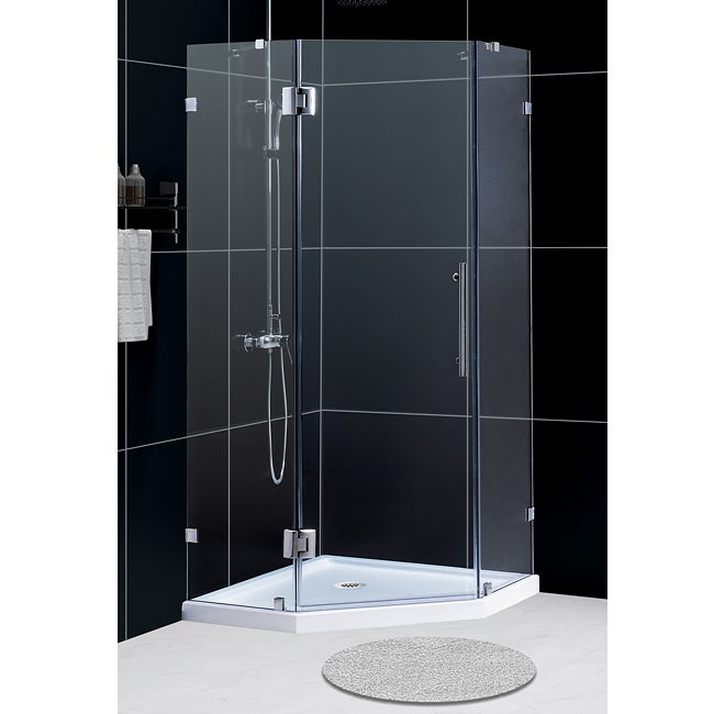DreamLine 35-3/8 inches x 72-7/8 inches NeoLux Hinged Shower Enclosure